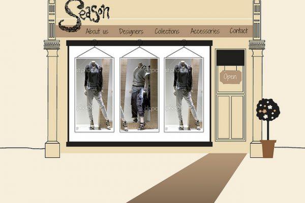 diseño web para ropa y calzado